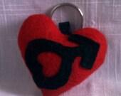 Sailor Mars Keychain