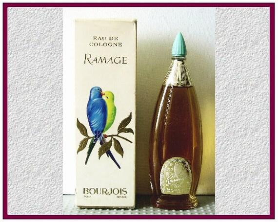 """Bourjois """"Ramage"""", Eau de Cologne, Vintage"""