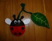Ladybug & Leaf Organic Catnip Cat Toy