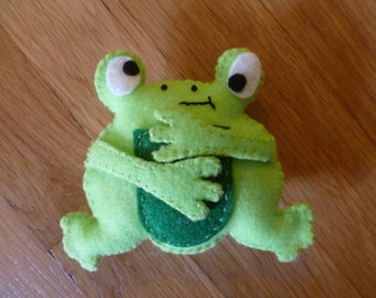 Frog Organic Catnip Cat Toy