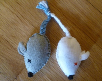 Mice Organic Catnip Cat Toy