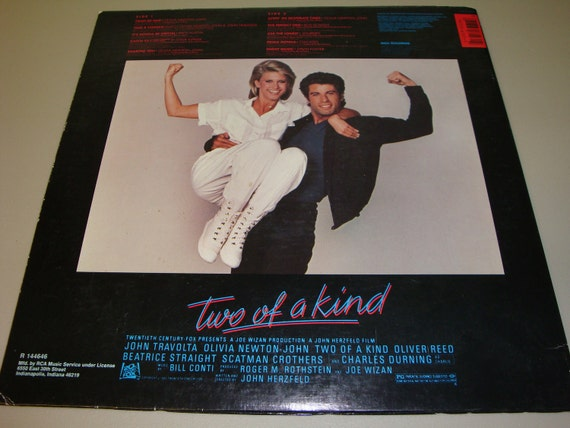 John Travolta Olivia Newton John Two of a Kind Music From The Original Motion Picture LP
