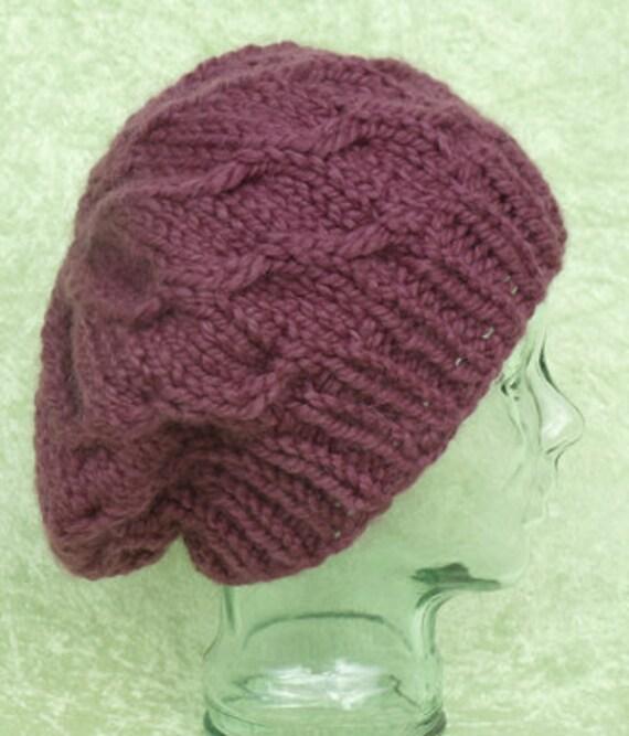 Quinn Knit Hat Pattern (PDF only)