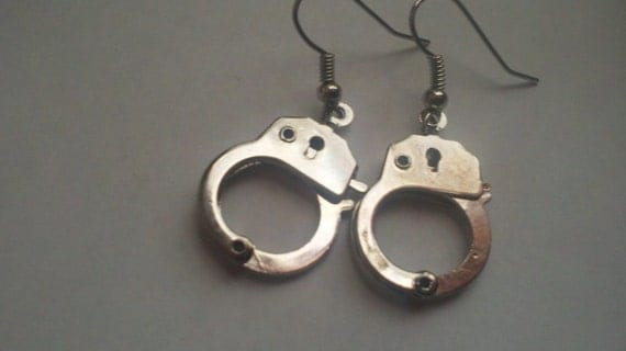Handcuff Earrings