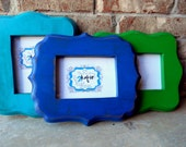 5x7 Whimsical Distressed Frame, St. Augustine Style