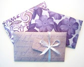 Purple Gift Box Pillow Box Gift Card Holder Favor Box