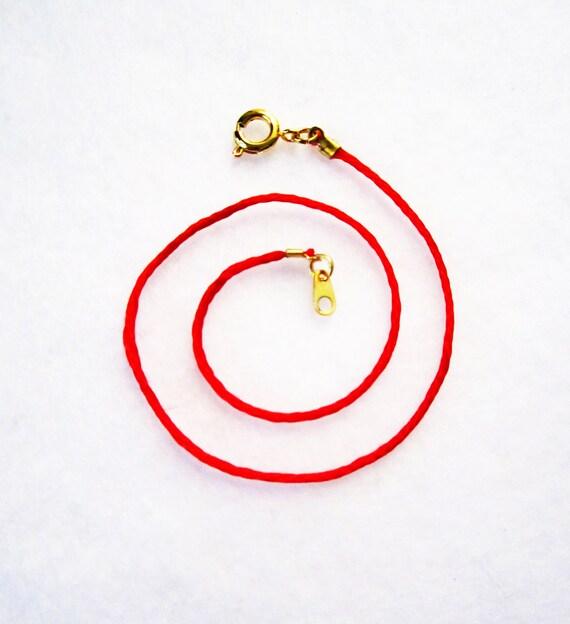 Anklet Kabbalah Red String Bracelets