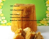 4oz Jaggery (Panela, Gur, Raw Organic Whole Brown Sugar)