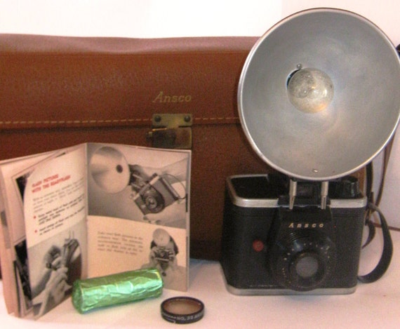 Ansco Ready Flash & Accessories 1950s