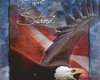 United We Stand - patriotic greeting card, U.S.A., United states, America, Support or Troops greeting card