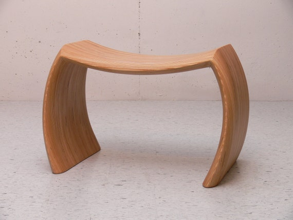 IDEA BENCH:Handcrafted,Wood,Art,Contemporary,Danish Modern,Mod,Furniture,plywood,Design,Mid-Century,Bench,Custom,Seating,Accent,