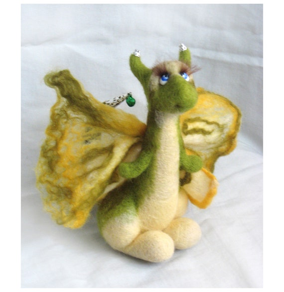 Green Dragon Butterfly.....I will make this item for your order