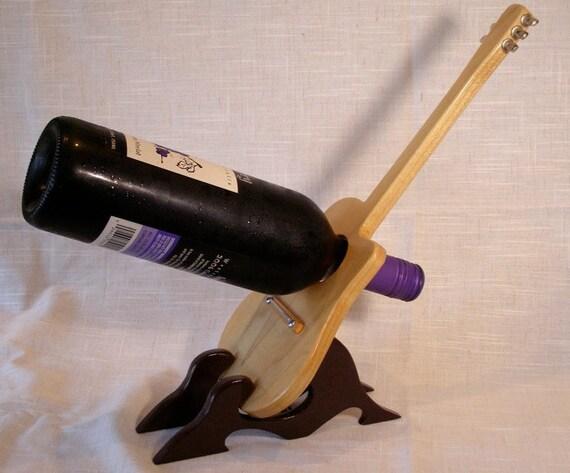 Wine Rack, Handmade Wood
