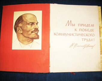 Vintage Book of Honor of the Soviet Union