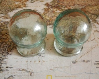vintage medical apothecary jars from ussr