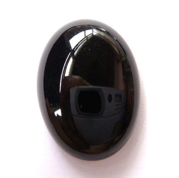 Magnificent AAA Brazilian Black Onyx Cabochon
