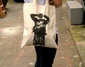 Rockers Screen Printed Canvas Tote Bag