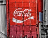 Coke Pops Fine Art Print 11 x 14 inches truck Ontario Hespeler Cambridge logo brand drink soda