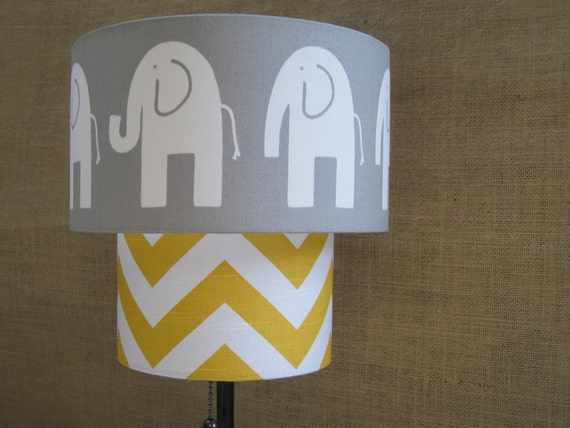 RESERVED FOR DANIELLE - Two Tier Elephant Shade