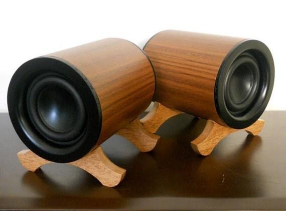 Odyssey Audio Speakers - Walnut