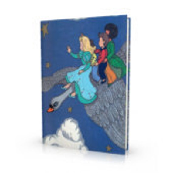 Personalized Story Book,The Silver Swan, Made to order, Magical Adventure Customized,