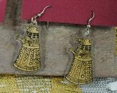 EXTERMINATE: Dalek Earrings