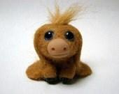 """OOAK Miniature Long Eared Donkey """"Nestor"""" by Aaron Matthies"""
