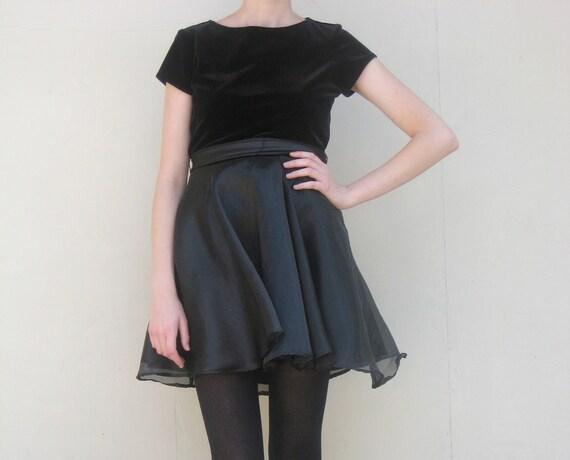 MAE.VALENTE Vintage Black Dress with Bow