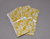 CLEARANCE-Set of 3 Matching Burp Cloths