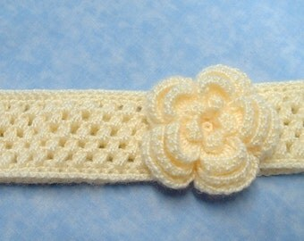 Puff Stitch Women's Headband - crochet