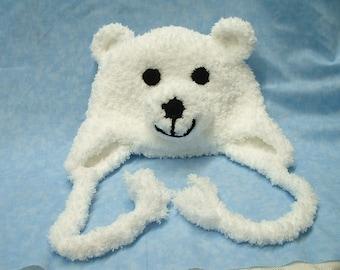 Snow the Polar Bear Hat