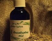 Eucalyptus Body & Bath Mist for Saunas, Tension Headaches, Congestion