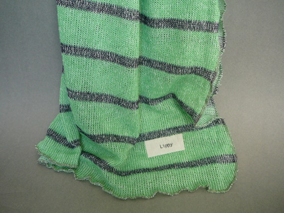 Sweater Knit Fabric Baby Blanket Boys Green With By