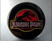 Pinback Button Jurassic Park 1.5 Inch Badge