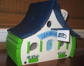Seattle Seahawk Birdhouse