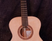 Chris Wood Guitars CUSTOM ORDER Sitka Spruce & Quilted Mahogany 000 Acoustic Guitar