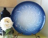 Blue Japanese plate