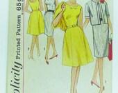 Vintage Simplicity Pattern- Sundress,Jacket and Skirts-Size 40