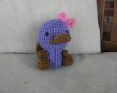 Little Miss Purple Platypus