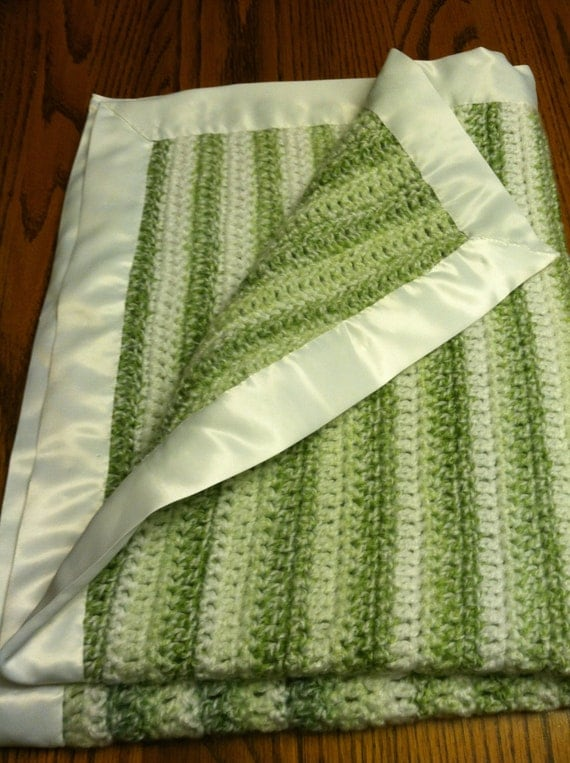 how to make satin blanket binding