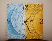 Sun and Moon Clock