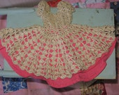 Very Old Doll Crocheted Dress. Or Dollie Dress