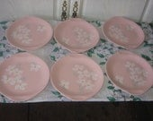 Set of 6 Plates Russel Wright Melmac