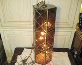 Mid Century Swag Hanging Light Large Sz 30 In Tall Hollywood Regency :) Not included  In coupon  sale