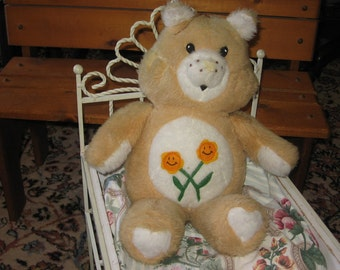 Vintage Care Bear Hand made Cute  :)SALE CLEARINGOUT25 .Must Be used at check out