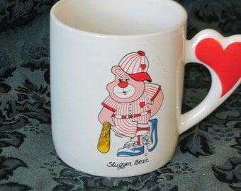 Love Mug Slugger Bear Mug  1984