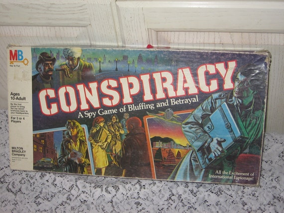 CONSPIRACY BOARD GAME / Gift Idea  :)S