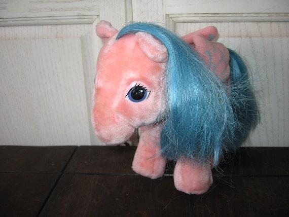 1984 My Little Pony PEGASUS  Stuffed By Hasbro
