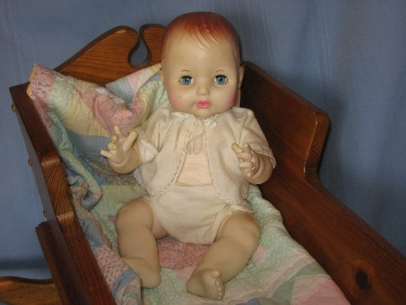 Betsy Wetsy Ideal Doll 1982  15 Inches Tall /  SALE 20 % Off Coupon Code SPRINGSALE /