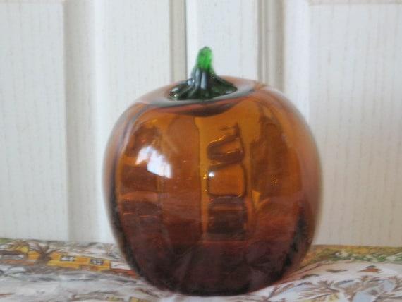 Hollow Glass Pumpkin Great Table Decoration
